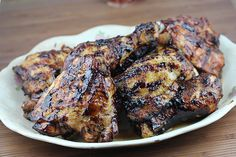 Grilled Chicken with Balsamic Barbeque Sauce Recipe