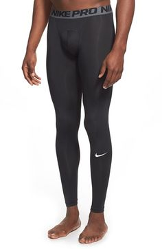 NIKE 'Pro Cool Compression' Four-Way Stretch Dri-Fit Tights. #nike #cloth #
