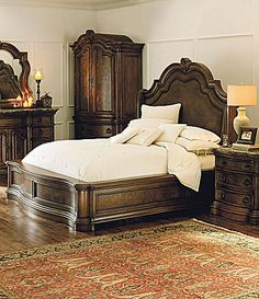 Pulaski San Mateo Bedroom Group #Dillards...GORGEOUS BED..LOVE IT!!!! <3
