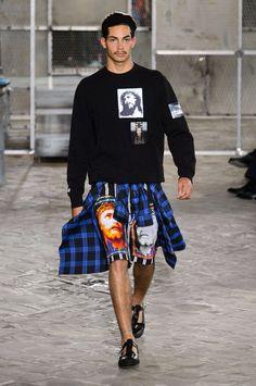 Givenchy ss16 men Ghetto icons