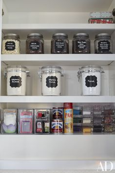 Kitchen Pantry Organization Khloe Kardashian 45 Super Ideas - pinupi love to share Kitchen Organization Pantry, Kitchen Pantry, Kitchen Decor, Organization Ideas, Organized Pantry, Pantry Ideas, Kitchen Ideas, Storage Ideas, Baking Organization