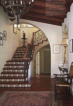 Spanish-style entry