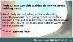 I love that kid haha :)