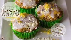 I made these Lemon Poppyseed cupcakes! Ik maakte deze Citroen Maanzaad Cakejes voor Visser Chocolade!