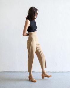 camel trouser