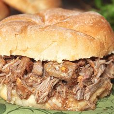 Cacoila Sandwich (Portugese Pulled Pork) Follow My Pinterest: @vickileandro