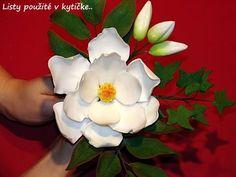 Изготовление искусственных цветов. Как сделать цветок магнолии