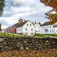 Fall at Canterbury Shaker Village, NH, USA.  All Content is Copyright of Kathie Fife Photography. Downloading, copying and using images without permission is a violation of Copyright.