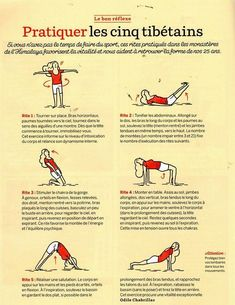 Yoga is better than jogging - Quotidienne pratique : les 5 tibétains Yoga Fitness. Introducing a breakthrough program that melts away flab and reshapes your body in as little as one hour a week! Qi Gong, Yoga Inspiration, Fitness Inspiration, Yoga Fitness, Sup Yoga, Yoga Gym, Tai Chi, Yoga Meditation, Yoga Sequences
