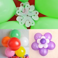 Balloons Modelling Clip For Party Decorations Flower Balloon Wholesale