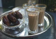 Qahwe is a Somali version of coffee with milk, spiced with cardamom and cinnamon. Qahwe recipe from My Somali Food
