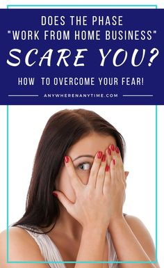 Often, the idea of starting a home business can bring nightmares of inconsistent income and tax-time headaches. But these fears are not the reality. Face your fears and what's holding you back from staring a successful work-from-home business! Work From Home Business, Work From Home Tips, Starting A Business, Make Money From Home, Way To Make Money, Make Money Online, Business Tips, Online Business, Working Mom Tips