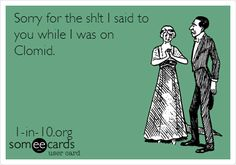 Oh dear! Sorry in advance.... Cards That Explain Infertility   Babble