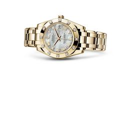 #DateJust #SpecialEdition #OysterPerpetualCollection #YellowGold #Diamonds #Rolex 34 mm