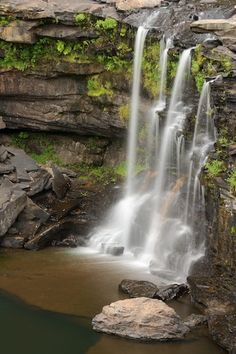 Water fall in Little River Canyon...Mentone Alabama