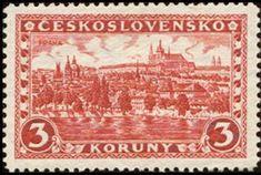 Znaczek: Prague, Hradčany and Charles bridge (Czechosłowacja) (Castles, landscapes and cities) Mi:CS 254Y,Sn:CS 120,Yt:CS 226,AFA:CS 119,POF:CS 226