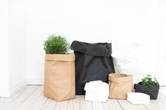Paperbags- for laundry, plants, storage etc!