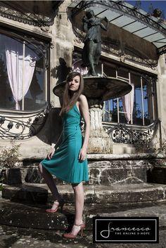 Liu Jo Dress. Abito Liu Jo. Jewel sandals Prada. Sandali gioiello Prada