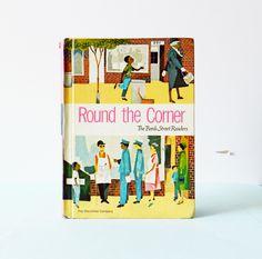 Mid Century Children's Storybook-Round the Corner