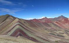 [OC]Vinicunca Mountain (Rainbow Mountain) in Peru [4000x2476] http://ift.tt/2a7rBuk @tachyeonz