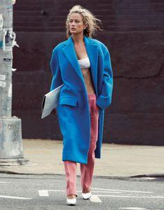 Carolyn Murphy by Cass Bird for Vogue Korea November 2012