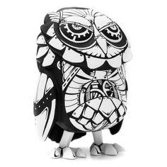 """@Jon-Paul Kaiser's Clash of the Titans inspired mechanical owl custom Coarse Toys's """"Omen!"""""""