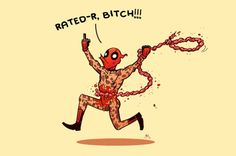 Deadpool is Rated R!! by Andrew Kwan
