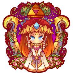 Princess Zelda Badge