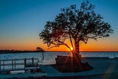 Bay St. Louis Mississippi Gulf Of Mexico, Mississippi, Coast, Celestial, Sunset, St Louis, Outdoor, Outdoors, Sunsets
