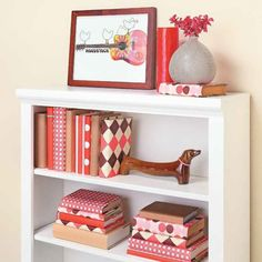 Unify Your Bookcases with Cool Covers | My Home My Style eNotes