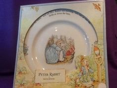 Wedgwood Peter Rabbit Plate Beatrix Potter by TheLavenderPathHome