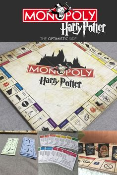 Harry potter monopoly with links to all the pdfs to make your own haz tu propio monopoly de harry potter diy con printables incluidos de design technology education solutioingenieria Images