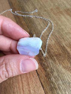Opal Necklace  Silver Opal Necklace  Opal Necklace  Opal
