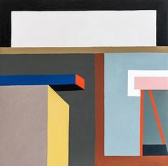 Nathalie Du Pasquier, Gouache, Abstract Shapes, Art Design, Illustration Art, Illustrations, Symbols, Letters, Memphis