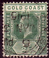 Gold Coast Ghana 1921 SG 86 King George V Fine Used SG 86 Scott 83 Other British Commonwealth Empire and Colonial Stamps here