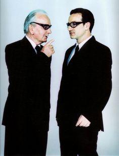 Bono and Bono's dad