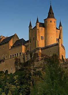 Segovia, Spain- cinderella's castle was based off of it :)