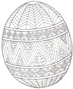 10 cool free printable Easter coloring pages for kids who've moved past fat…