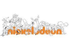 Σχέδιο ζωγραφικής Nickelodeon '90
