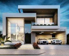 Bom dia com essa linda residência!!! Que fachada Autoria Marcelo Ohira