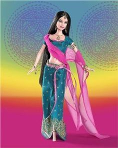 Barbie Collector Diwali Barbie Doll Festivals Of The World. The most important and magical festival celebrated in India is Diwali. Barbie World, Mattel Barbie, Barbie Dress, Barbie Clothes, Barbies Dolls, Barbie Stuff, Barbie Design, Gi Joe, Diwali Gifts