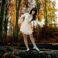 Autumn Ballet by Matthias Gaberthüel, via Victorian, Ballet, Autumn, Dresses, Fashion, Vestidos, Moda, Fall Season, Fashion Styles