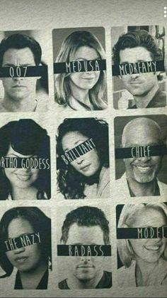 greys anatomy quotes Melhores apelidos no h. Greys Anatomy Derek, Greys Anatomy Funny, Greys Anatomy Cast, Grey Anatomy Quotes, Greys Anatomy Episodes, Greys Anatomy Characters, Grey's Anatomy Wallpaper Iphone, Arte Com Grey's Anatomy, Grey's Anatomy Doctors