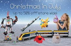 🎅 ⛄️🎁❄️Christmas in July - Save up to 50% - Playmobil, Roominate, LEGO, Brio🎅 ⛄️🎁❄️