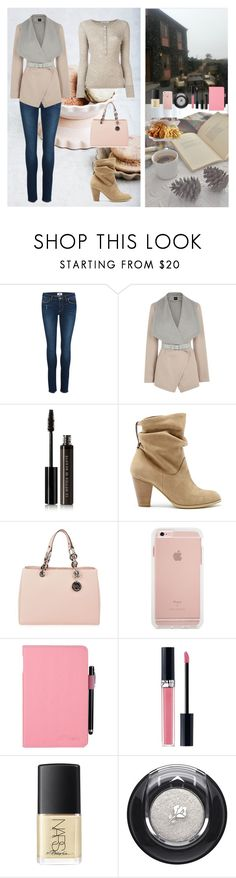 """""""Lunch Outdoors"""" by oksana-kolesnyk ❤ liked on Polyvore featuring Paige Denim, Oasis, Le Métier de Beauté, Sole Society, MICHAEL Michael Kors, Christian Dior, NARS Cosmetics, Lancôme and T By Alexander Wang"""