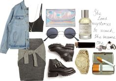 """""""Untitled #237"""" by woolfen ❤ liked on Polyvore"""