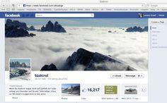 Nur die Gipfel zeigen sich über den Wolken