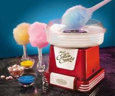 If you are a cotton candy fan, you should check out the mini cotton candy machine. The cotton candy machine makes every day into a day at the fair with mini...