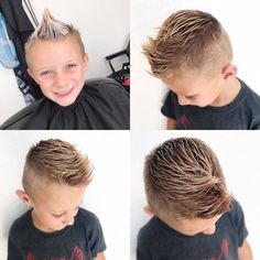 We all care for our beloved kids. Like we spend money on buying trendy clothes, shoes and other accessories to make them look adorable. But it is quite true… Little Boy Hairstyles, Baby Boy Haircuts, Kids Hairstyle, Haircuts For Boys, Stylish Haircuts, Cool Haircuts, Hairstyles Haircuts, Little Man Style, Little Boys