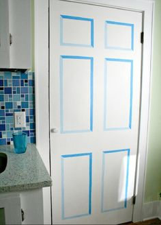 Puertas de armario pintadas a mano decoraci n armarios - Armarios pintados a mano ...